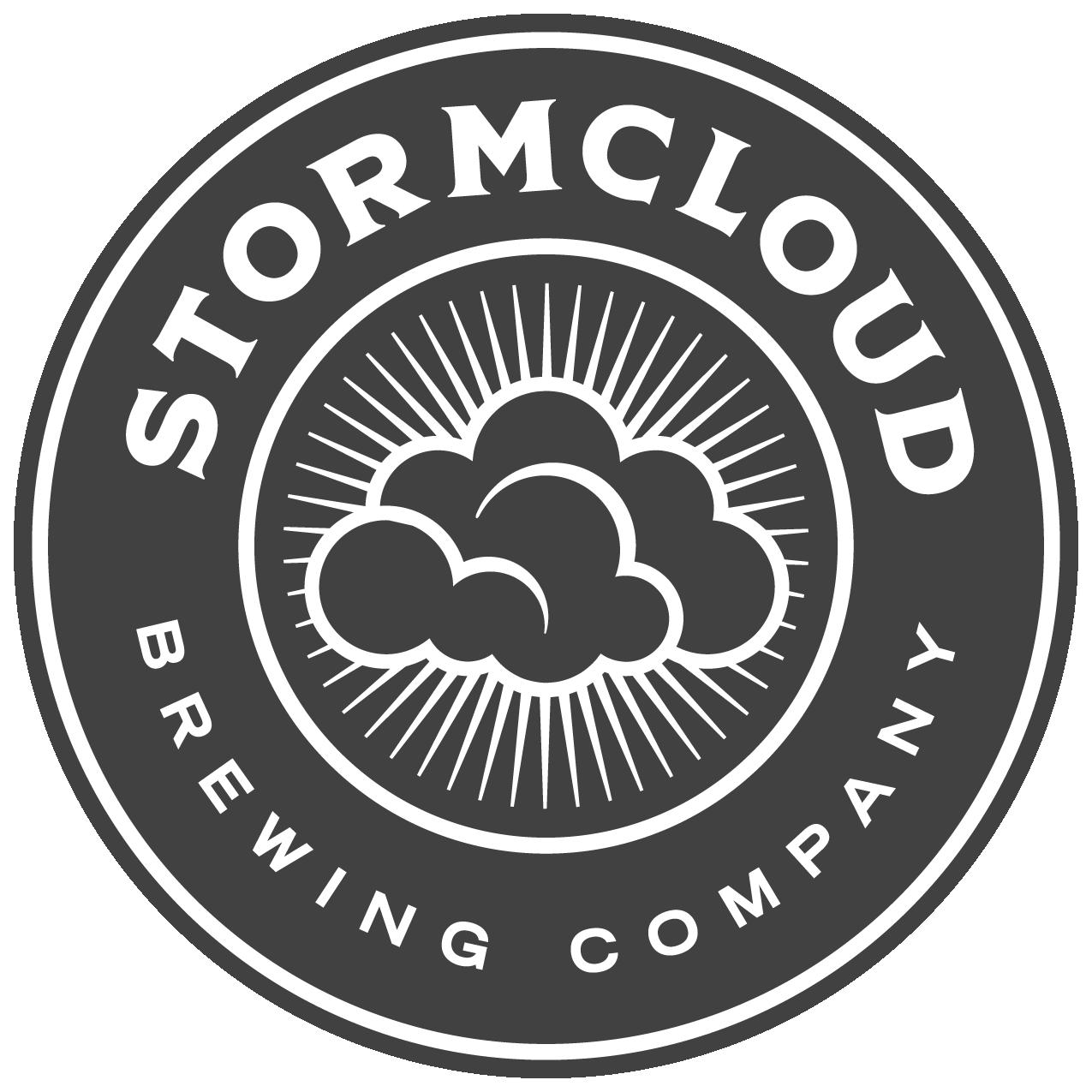 Stormcloud Emblem - Gray+White